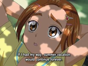 Be careful what you wish for, Saki...