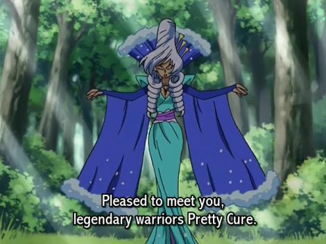 Pretty Cure Splash Star Ms Shitataare Introduction